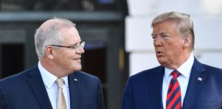 PM Australia Scott Morrison dan Presiden AS Donald Trump