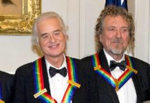 Jimmy Page dan Robert Plant