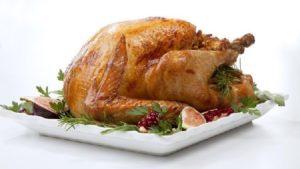 Hidangan kalkun sebagai makanan wajib di hari Thanksgiving